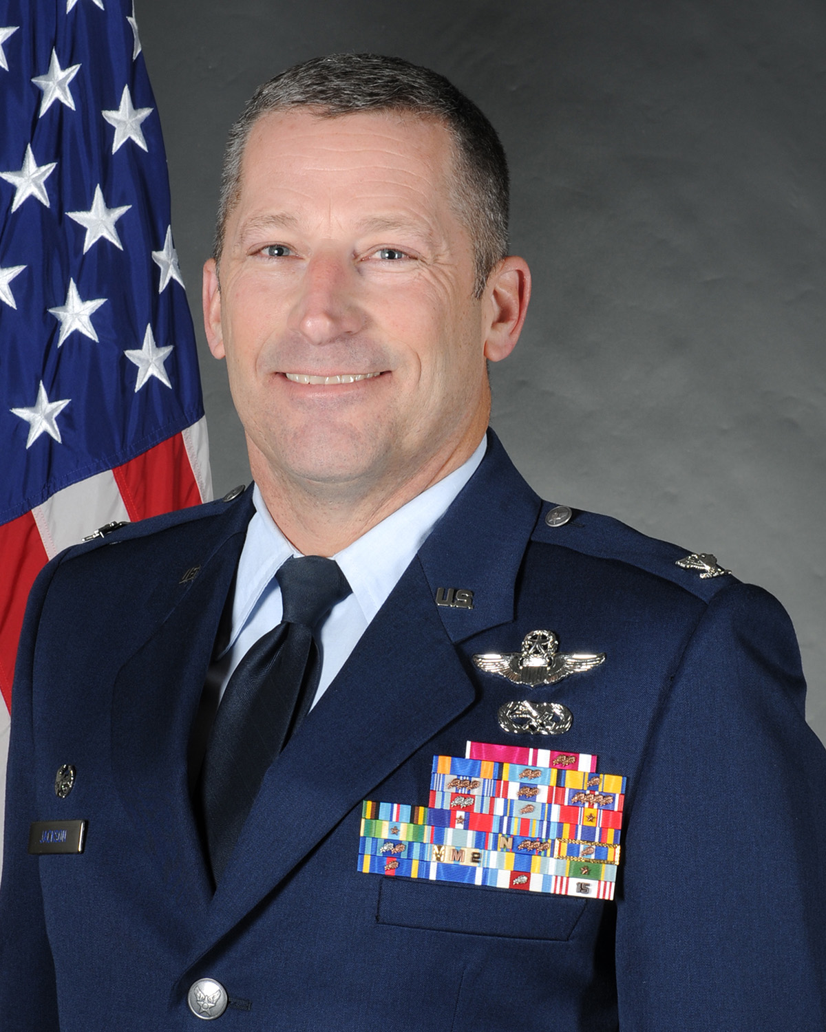 Colonel Tom Jackson, Commander, 126th Air Refueling Wing